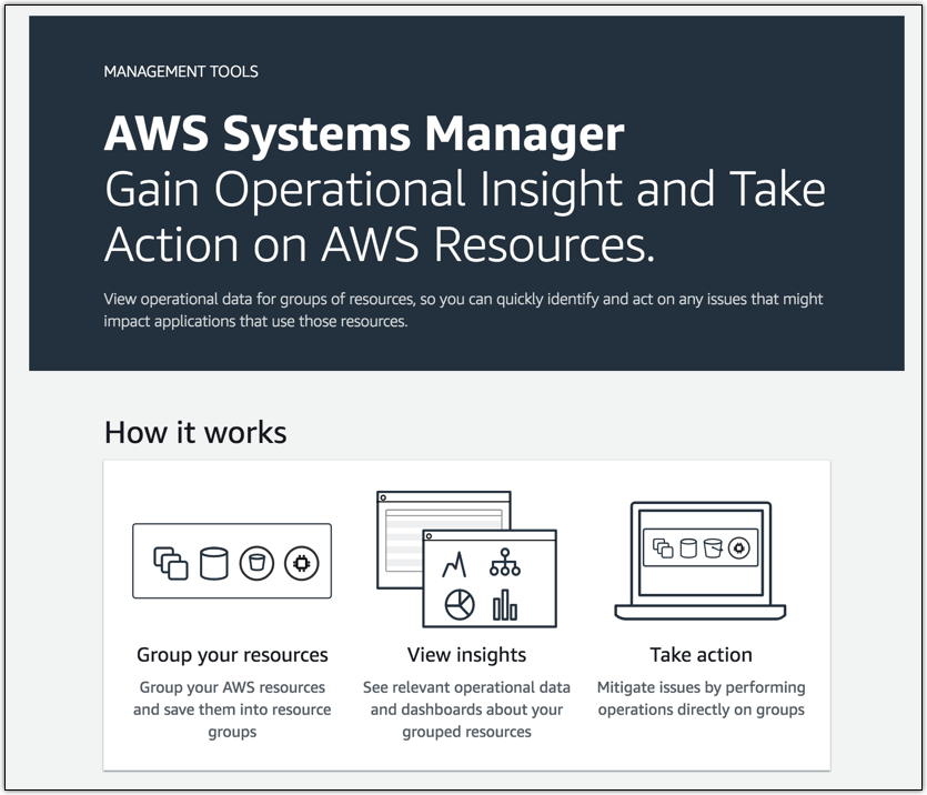 AWS Systems Manager – A Unified Interface for Managing Your Cloud