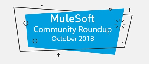 Meet the top MuleSoft community contributors (October '18