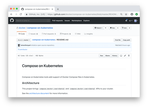Top 5 Blog Post 2018: Simplifying Kubernetes with Docker Compose and